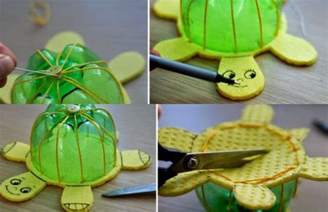 maquetas de tortugas con botella c 243 mo hacer una tortuga reciclando botellas pet solountip com