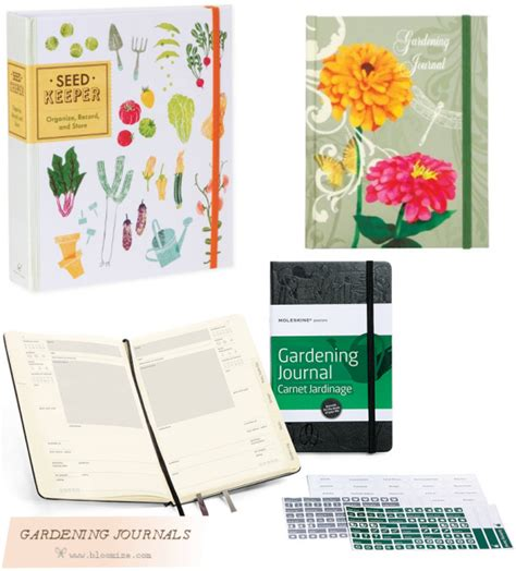 2018 garden journal and data keeper from the organic gardener podcast books gardening journal etc bloomize