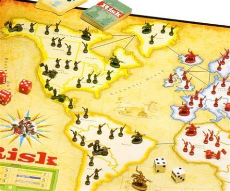 gc3wd6n classic family board games: risk (traditional