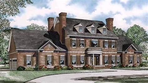 georgian style house plans modern homes makow colonial