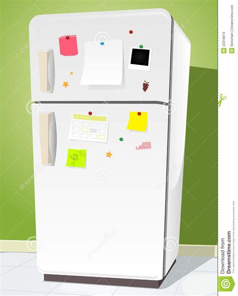 Free Kitchen Design Program by Fridge With Notes Stock Photos Image 22318613
