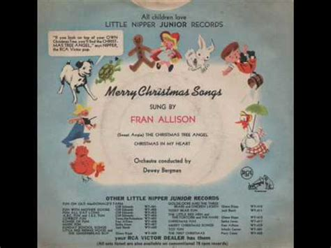 fran allison quot sweet angie the christmas tree angel