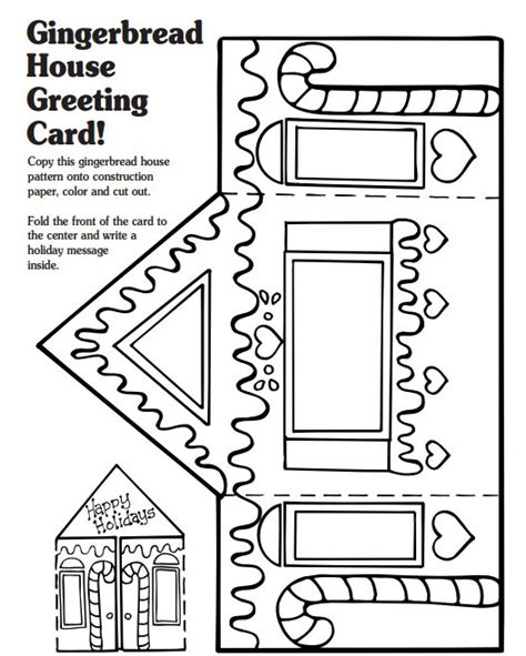 gingerbread house printable activities classic holiday books and activities for home and school