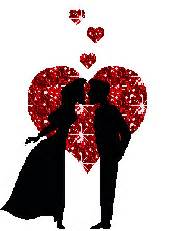 kissing couple glitter graphics myniceprofilecom
