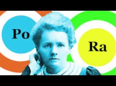 history of radium and polonium // marie curie presentation