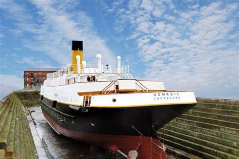 nomadic boat belfast belfast s ss nomadic to star in channel 5 documentary