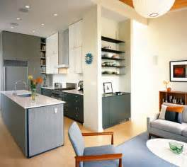 Kitchen And Living Room Spaces Imbiancare Cucina Soggiorno Ambiente Unico Con Arredo Moderno