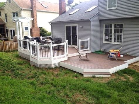 perfect decks without railings new decoration decks without railings ideas