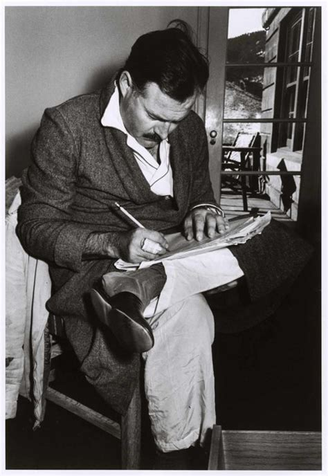 ernest hemingway biography essay ernest hemingway writing wearing only his pajamas and
