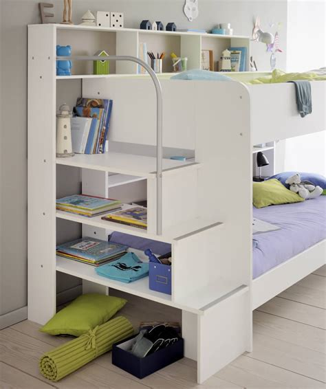 Parisot Bibop Bunk Bed Avenue Bibop 2 White Bunk Bed By Parisot The Home