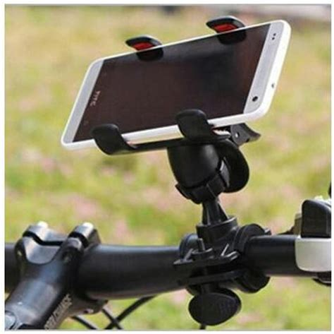 Holder Bracket Mounting Smartphone Hp Stang Sepeda lazypod motor sepeda bike mount holder for smartphone jadi store