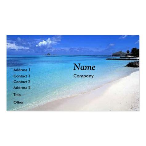 card paradise island paradise business cards card template zazzle