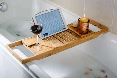 Reading In The Tub In The Bookcase by Top 10 Best Bathtub Trays In 2017 Reviews Any Top 10