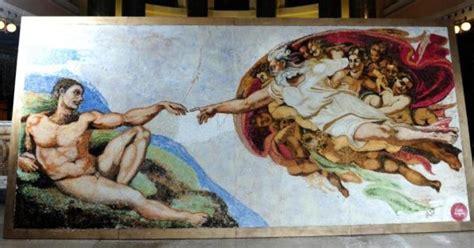 Fresque Plafond Chapelle Sixtine by Chapelle Sixtine La Fresque De Michel Ange Reconstitu 233 E