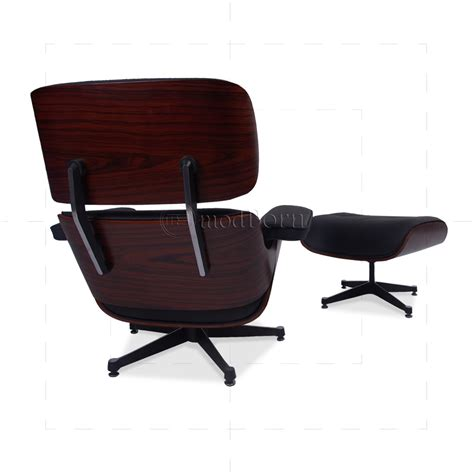 eames leather chair and ottoman eames style lounge chair and ottoman black leather