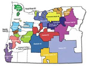 electric utility map welcome to the oregon rural electric cooperative