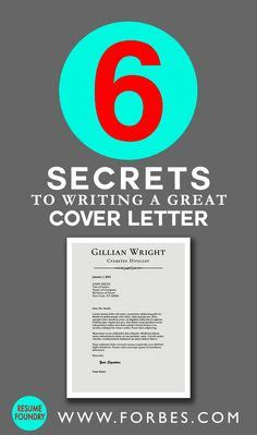 the art and science of writing cover letters