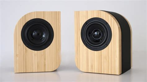 Beautiful Speakers by Beautiful Speakers Made From Sustainable Bamboo And