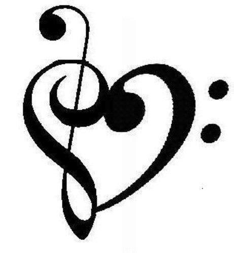 imagenes de corazones musicales m 225 s de 25 ideas fant 225 sticas sobre dibujos de notas