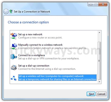 share internet connection windows 7, set up wireless ad