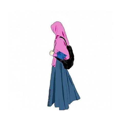 tutorial jilbab syar i kartun 8 gambar muslimah berhijab syar i kartun yang cute abis