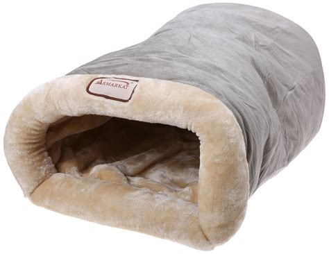 burrow bed armarkat safe and warm burrow pet cat beds faux suede faux fur c15hhl mh new ebay