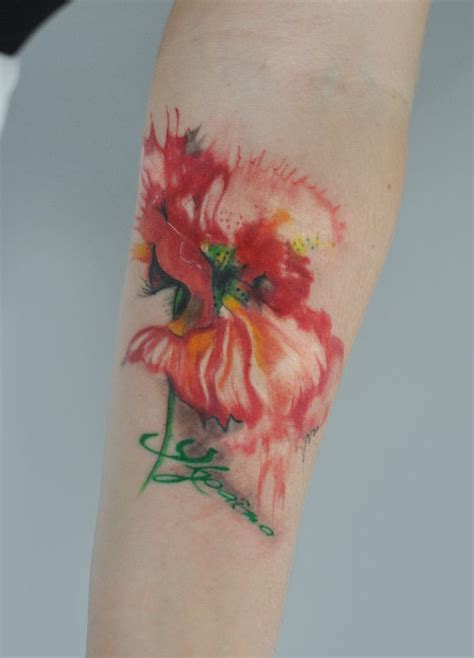 poppy tattoo by dopeindulgence tattooimages biz