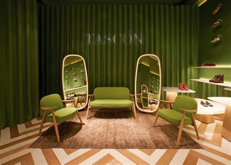 two shoe store two bold colorful tasc 243 n shoe stores by lagranja design