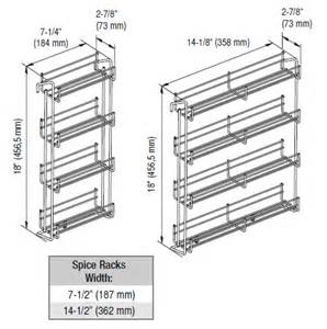 kitchen spice racks for cabinets
