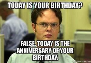 Office Birthday Meme 25 Best Ideas About Anniversary Meme On