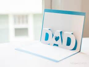 Fathers Day Template by S Day Pop Up Card With Free Silhouette Templates