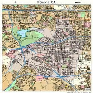 pomona california map 0658072