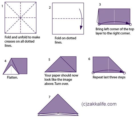 How To Make A Paper Baloon - printable origami
