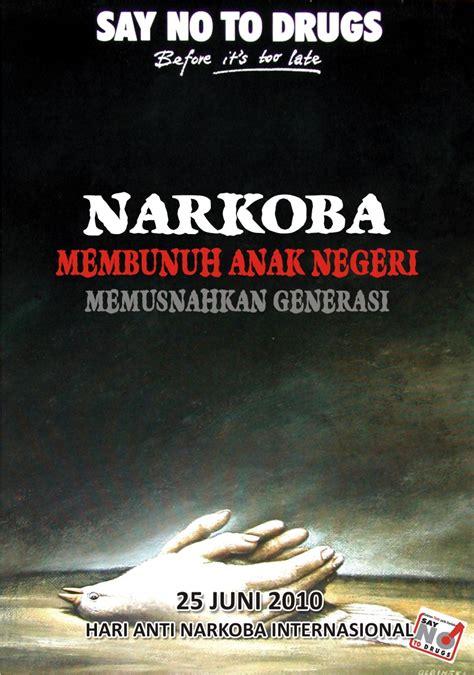 film tentang pengedar narkoba poster anti bnnk garut