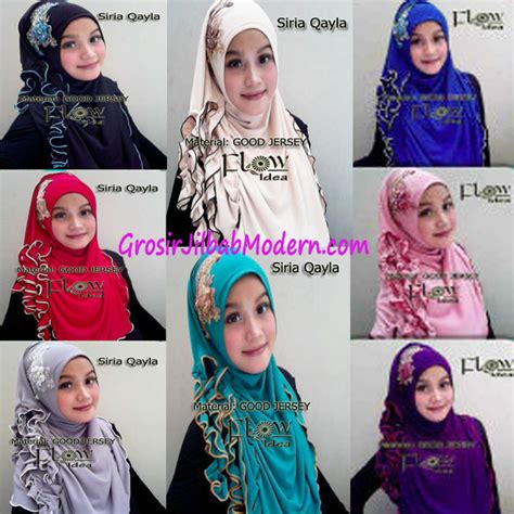 Instan Siria Krancang Jilbab Instan Syari Kerudung jilbab syria qayla series grosir jilbab modern jilbab