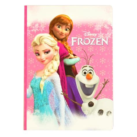 Disney Frozen Ponytail Elsa Blue frozen wirebound notebook weekly planner self administered
