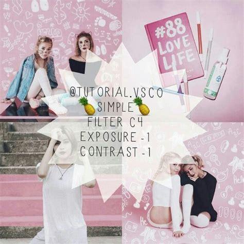 vsco feed tutorial rizanoia 20 vsco cam filters for pink instagram feed