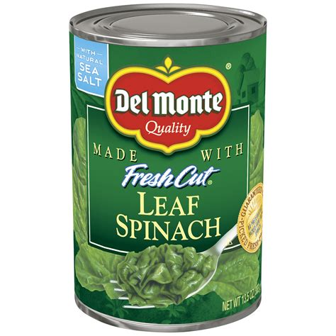 Delmonte Fresh Cut Healves825gr29oz monte fresh cut leaf spinach 13 5 oz 383 g