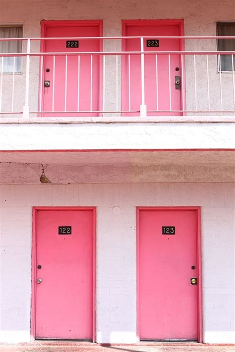 at the corner of seedy and charming city s pink motel