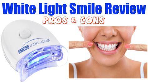 brightwhite smile teeth whitening light white light smile review pros cons