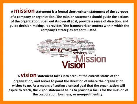 10 vision statement exles informal letter