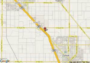 map of best western orchard inn turlock