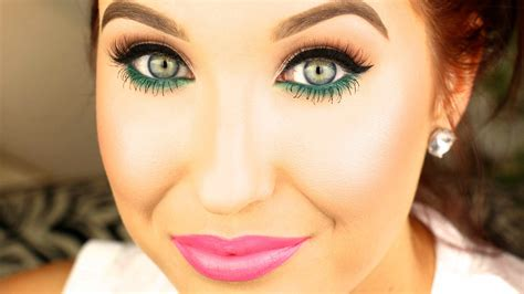 color pop makeup pop of color makeup tutorial 2014 hill