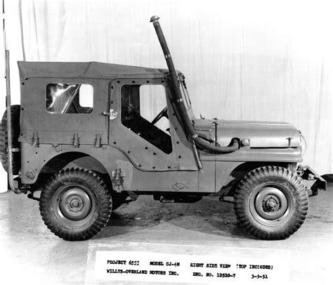 jeep cj 4 jeep 174 heritage 1951 jeep willys cj 4m the jeep