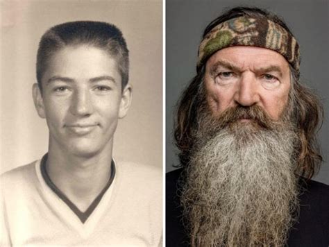 duck dynasty stars without beards beardless robertson family photos go viral across internet