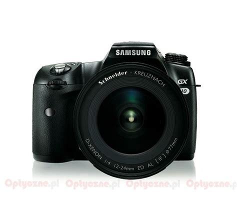 Kamera Samsung Gx 10 samsung gx 10 optyczne pl