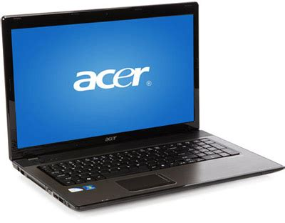 acer aspire as7741z 4633 affordable 17.3 inch multimedia