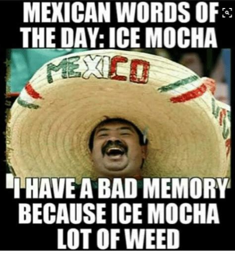 Meme Day - 25 best memes about mexican word of the day mexican