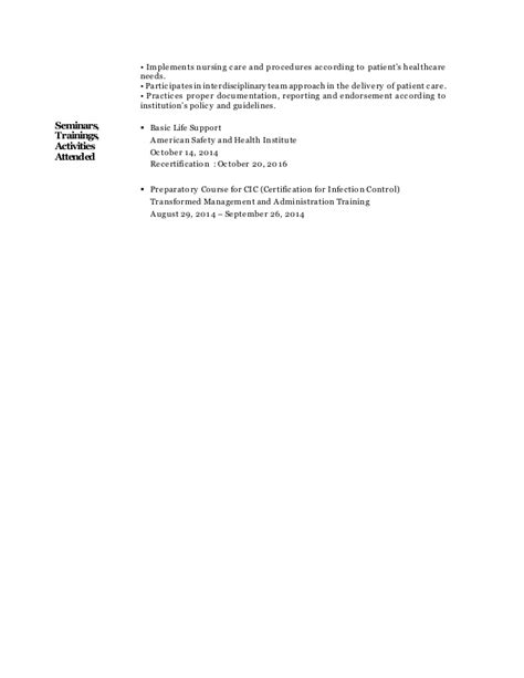 Resume Normal Activities After C Section Resume Registered
