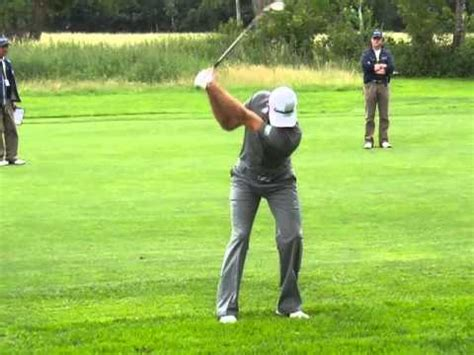 dustin johnson golf swing dustin johnson golf swing slow motion wedge rough shot